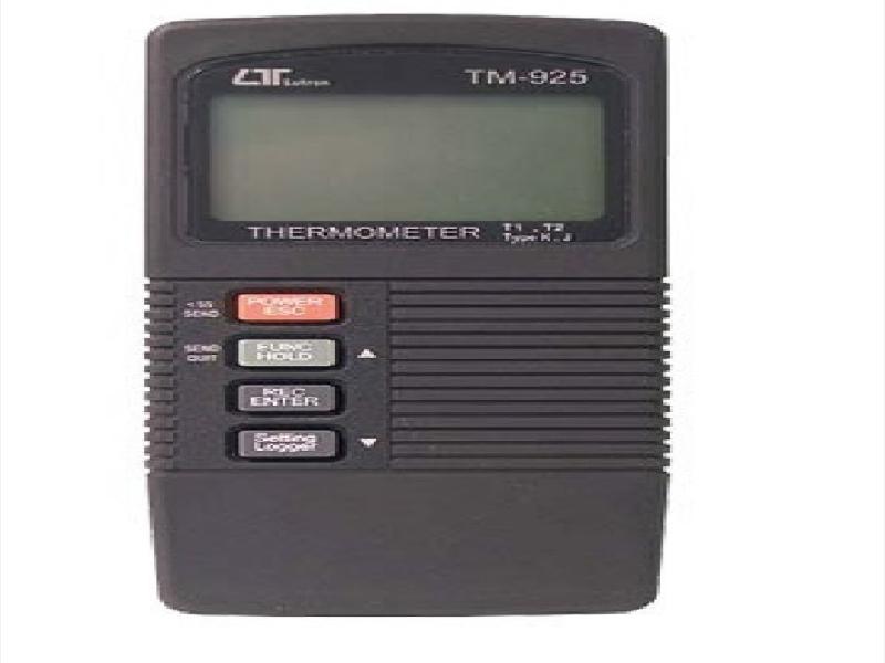 ترمومتردوکاناله دارای حافظه مدلTM925
