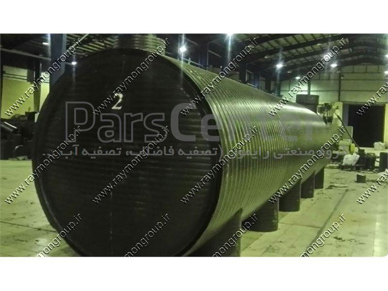 سپتیک تانک پلی اتیلنی دو جداره به ظرفیت 20 مترمکعب