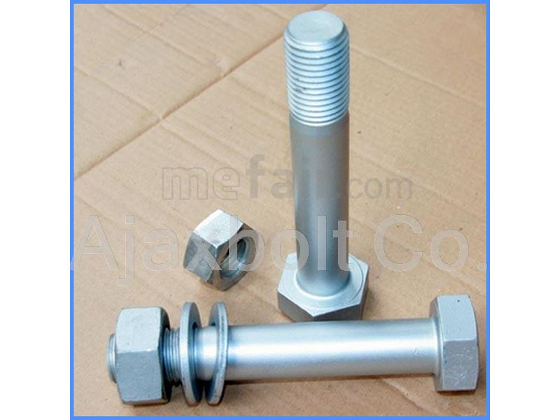 Dacromate plated bolt and nut