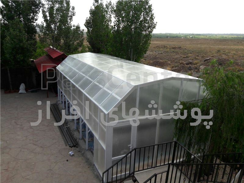 پوشش ثابت استخر(جاده فیروزکوه-سربندان)