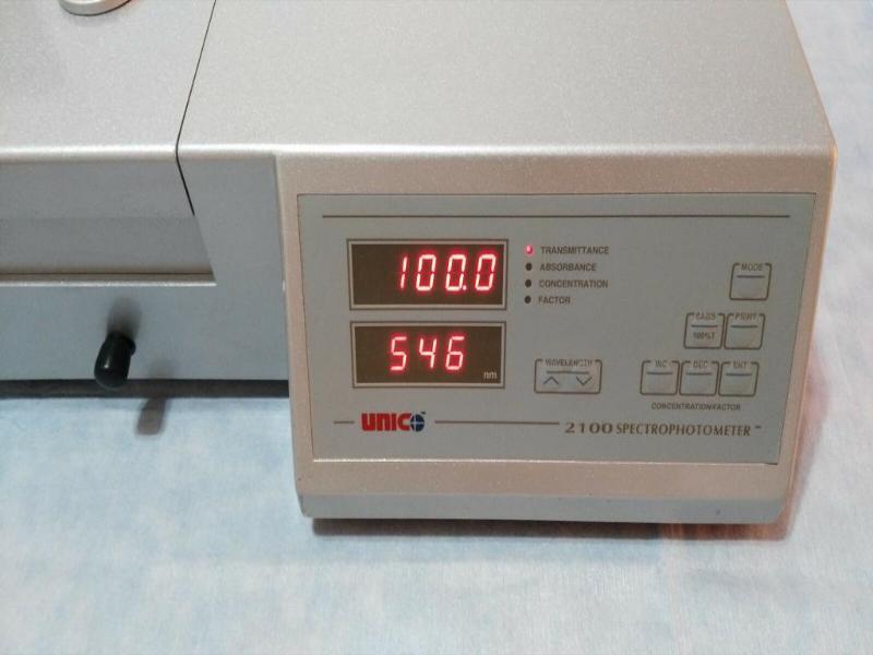 UNICO تعمیرات اسپکتروفتومتر