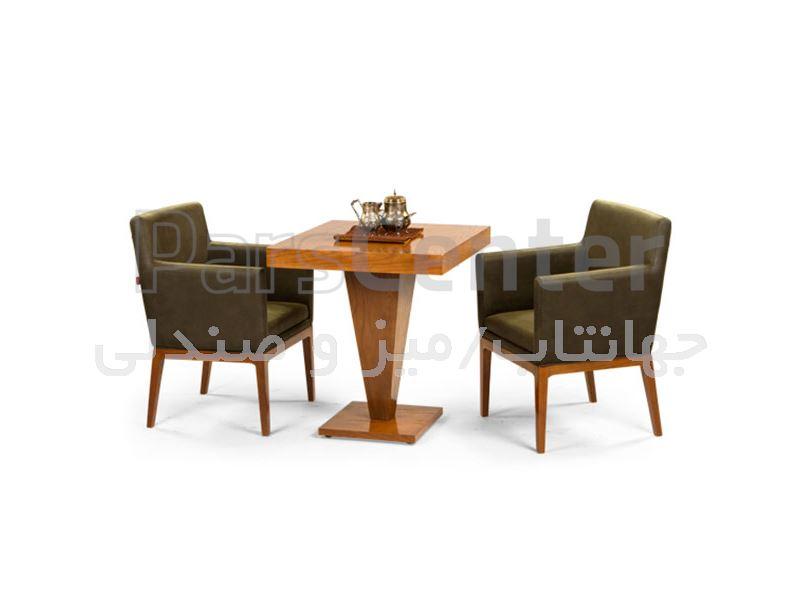 میز چوبی کافی شاپ مدل 1027WS (جهانتاب)