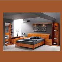 تخت خواب چوب طبیعی مدرن