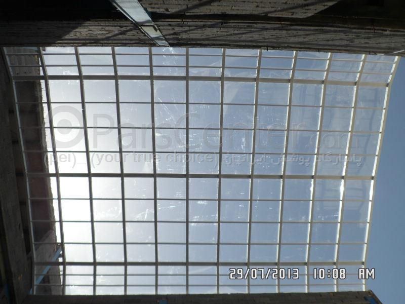 Building skylight _نورگیر ساختمان دیوان محاسبات استان خوزستان (اهواز)