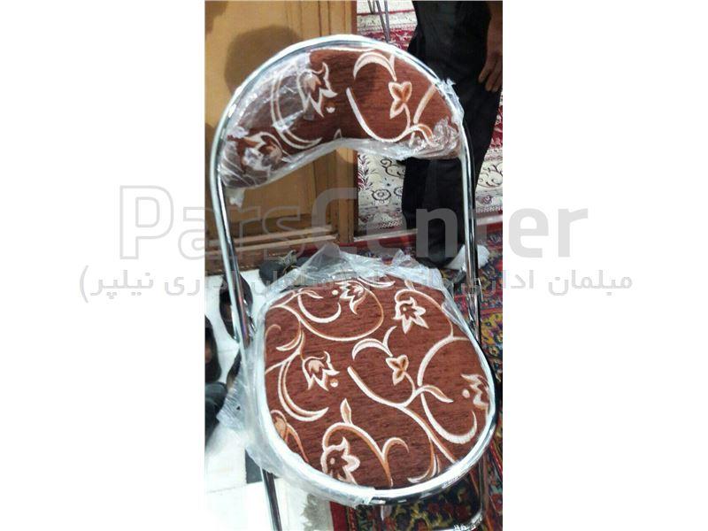 صندلی تاشو فلزی مدل حلالی