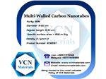Multi-Walled Carbon Nanotubes (MWNTs, +95%, Diameter 8-20 nm, Regular Length 5-10 μm)