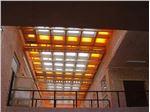 سقف پاسیو با نورگیر حبابی مدل PSPB M24