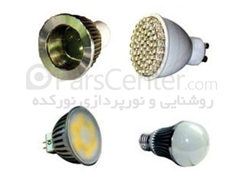 تولید و فروش انواع لامپ  LED و لامپ COB