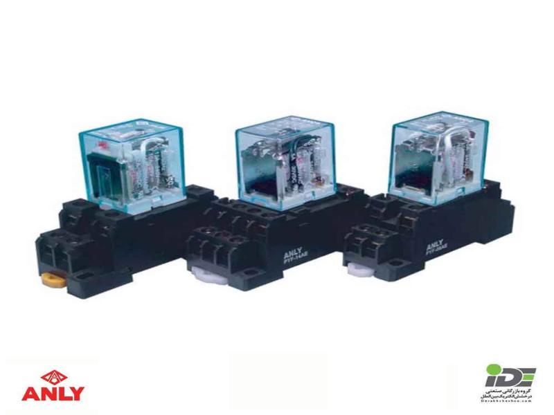رله های شیشه ای آنلی مدل AHC4N