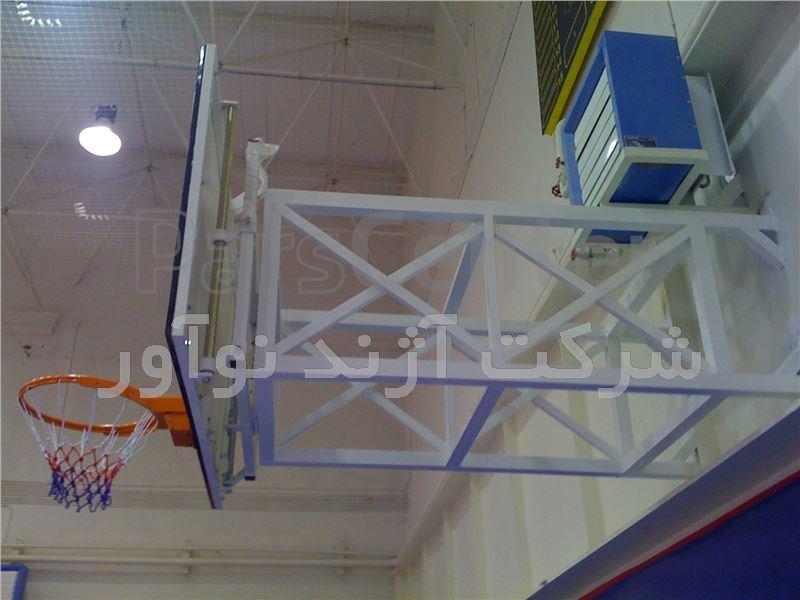 حلقه بسکتبال فضای باز آژندنوآور مدل B900