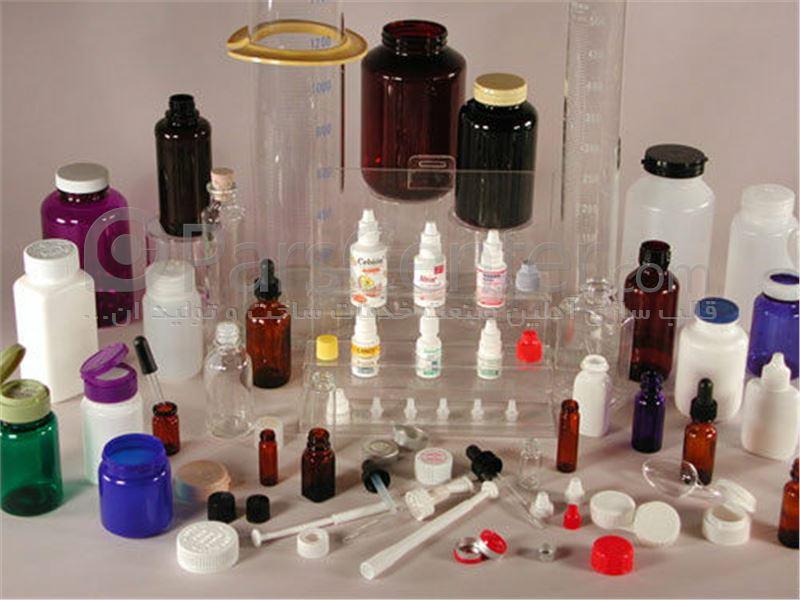 قالب پلاستیک انواع ظروف بسته بندی دارو و درپوش های دارویی