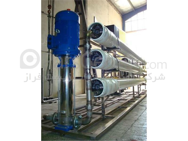 دستگاه تصفیه آب (RO) - مهندسی فراب زیست فراز