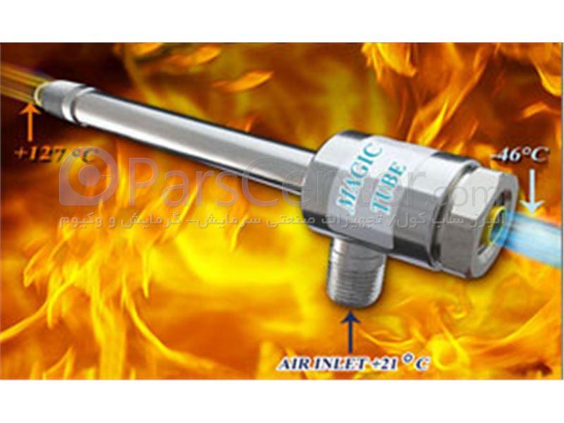 ورتکس تیوب vortex tube مدل 1025 ( 1800 BTU/HR ) شرکت البرز ساب کول