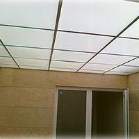 پلی کربنات+سقف کاذب