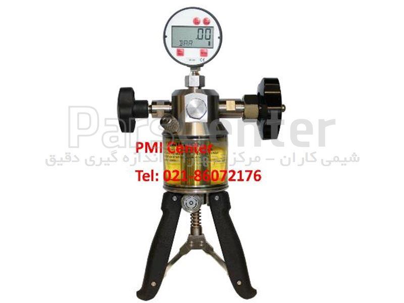 هند پمپ فشار (پمپ دستی فشار) کالیبراسیون گیج  فشار هیدرولیک  1000 بار Pressure Hand Pump