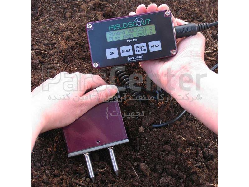 سنسور تعیین میزان رطوبت خاک TDR 100 کمپانی Spectrum امریکا