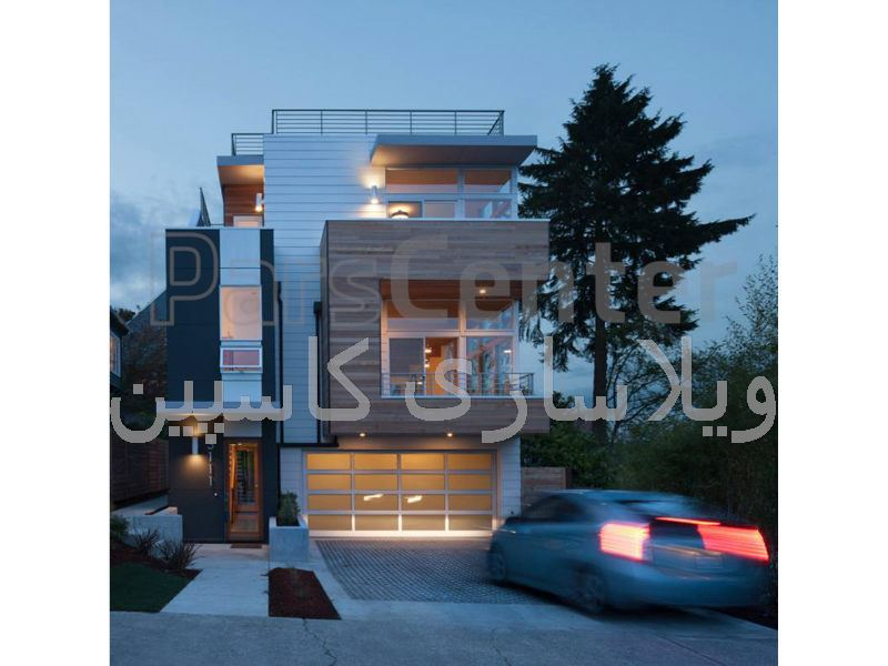 طراحی ویلاهاو ساختمانهای مدرن و رویایی