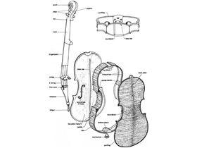 اقسام ویولن از جهت ساخت : فابریک (کارخانه ای) – دست ساز – الکترونیک