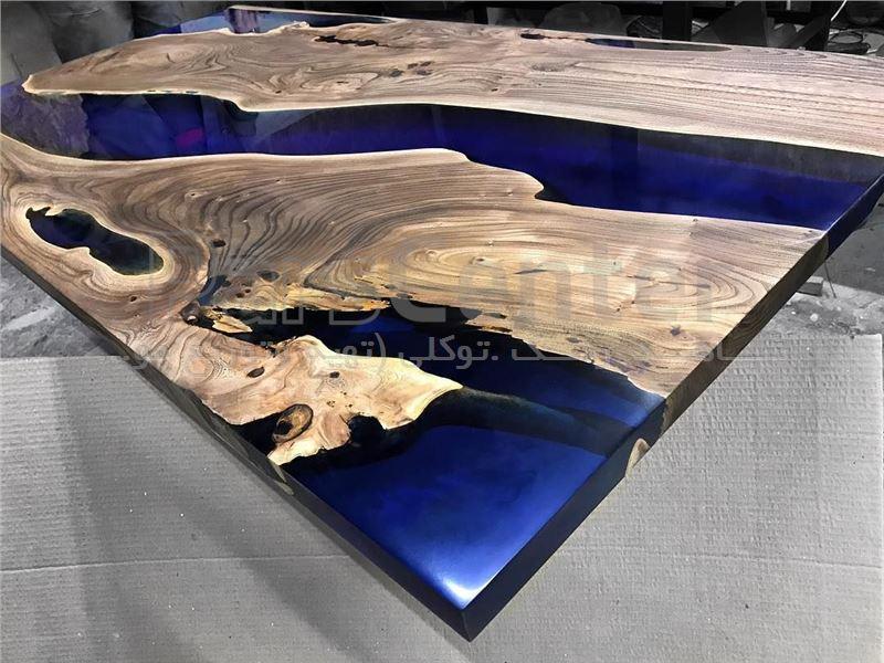 رزین دو جزئی شفاف مخصوص ترکیب چوب بدون بو،ضد شعله