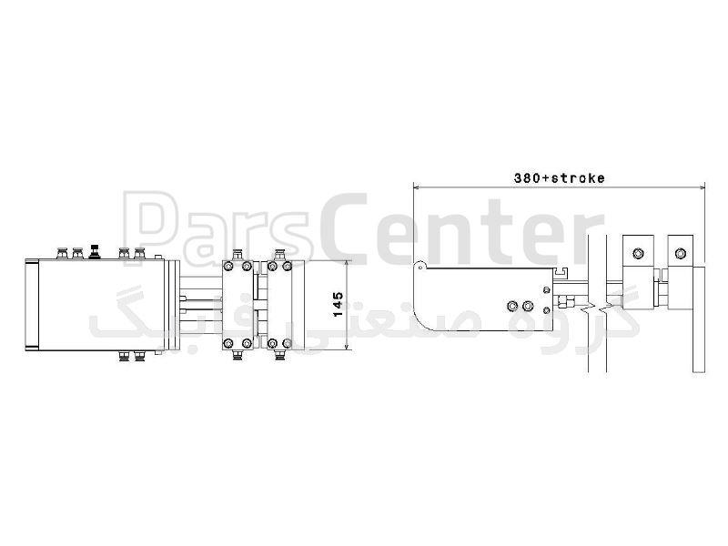 فیدر پنوماتیک سری A مدل AZ