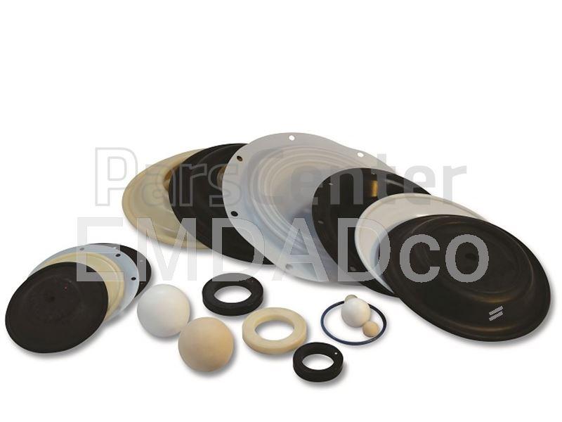 دیافراگم انواع پمپ دیافراگمی Diaphragm Pump Parts
