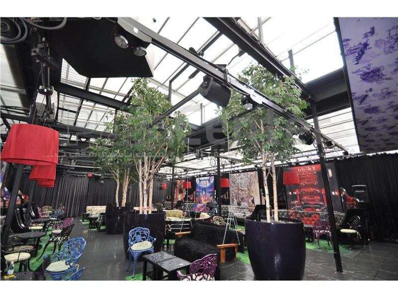 پوشش سقف کافه شبستان