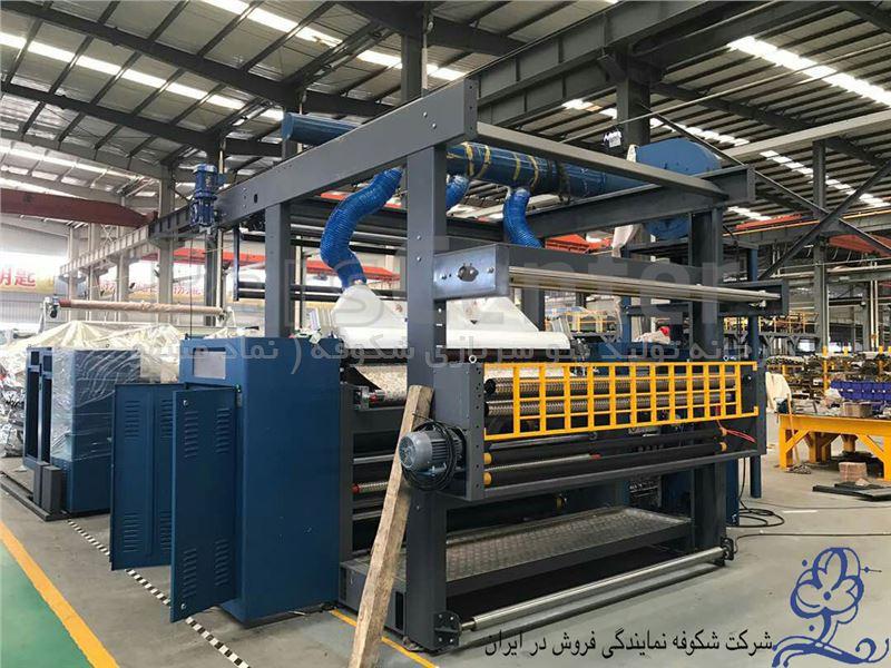 نمایندگی فروش خط تولید پتو (شرکت ZGL) - شرکت شکوفه