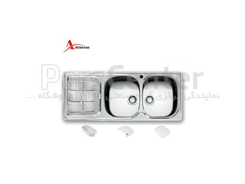 سینک توکار اخوان مدل 147NEW