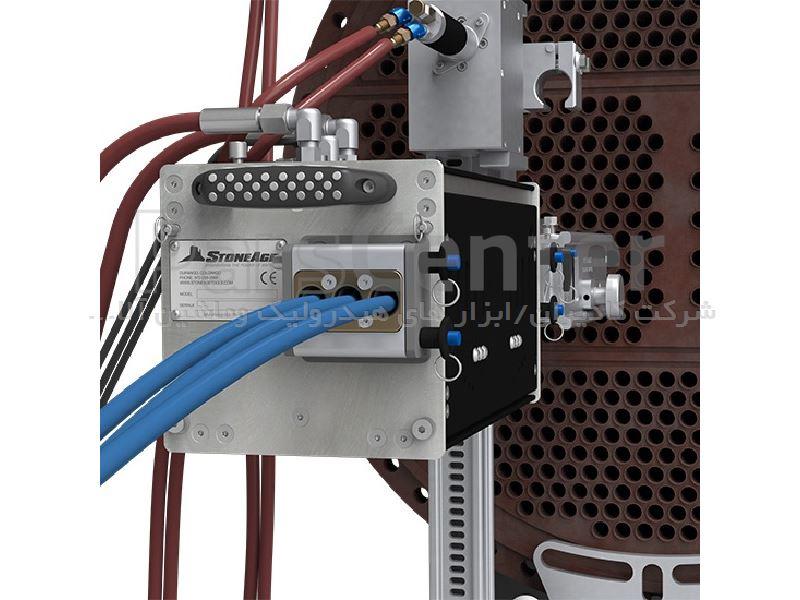 دستگاه تمیزکننده مبدل های حرارتی و باندل ها مدل AutoBox ABX-3L ساخت استونیج آمریکا