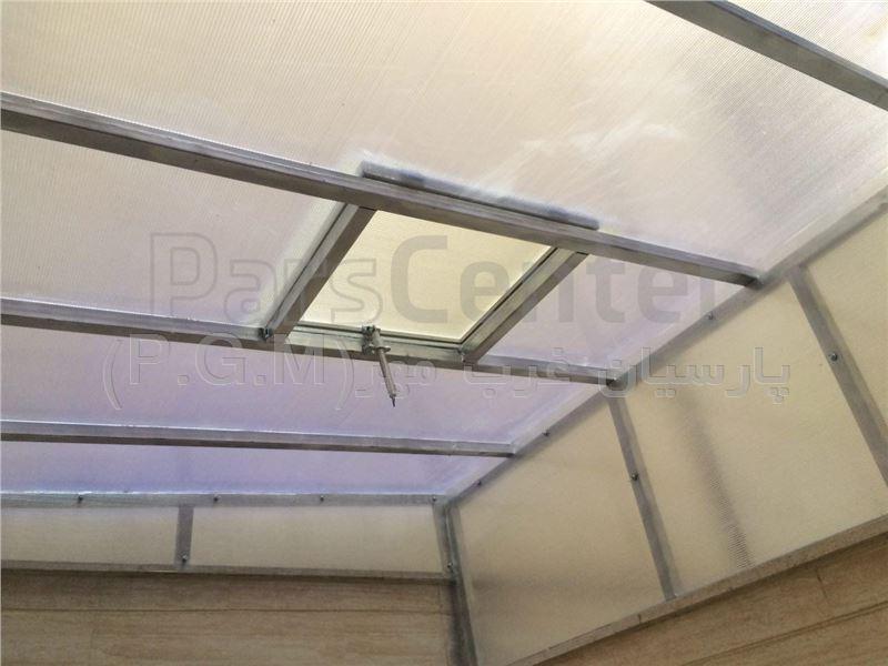 اجرای سقف پلی کربنات حیاط خلوت (فردوس غرب - بهار)