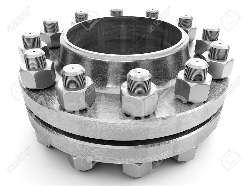 Flange stud bolts and 2H nuts