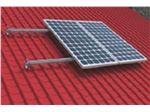 استراکچر(سازه) یک کیلو واتی نصب پنل خورشیدی(سولار) بر پشت بام شیب دار_Solar Roof Mounting