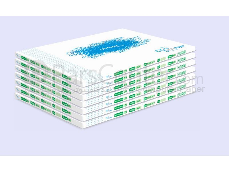 قیمت کاغذ کاربن لس بصورت بند CFI Paper 100×70   سبز CFB
