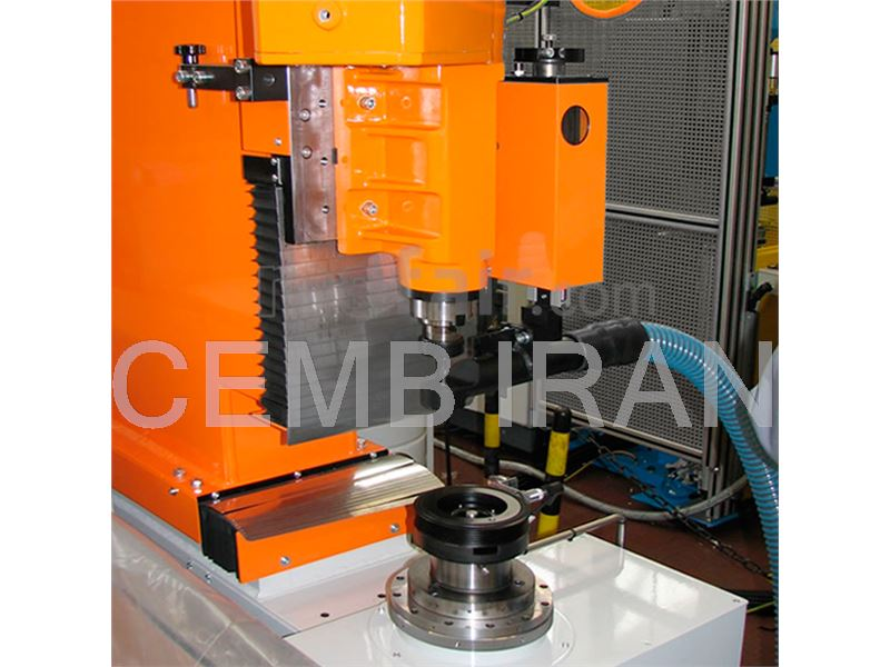 Balancing Machine for Pulleys - CEMB