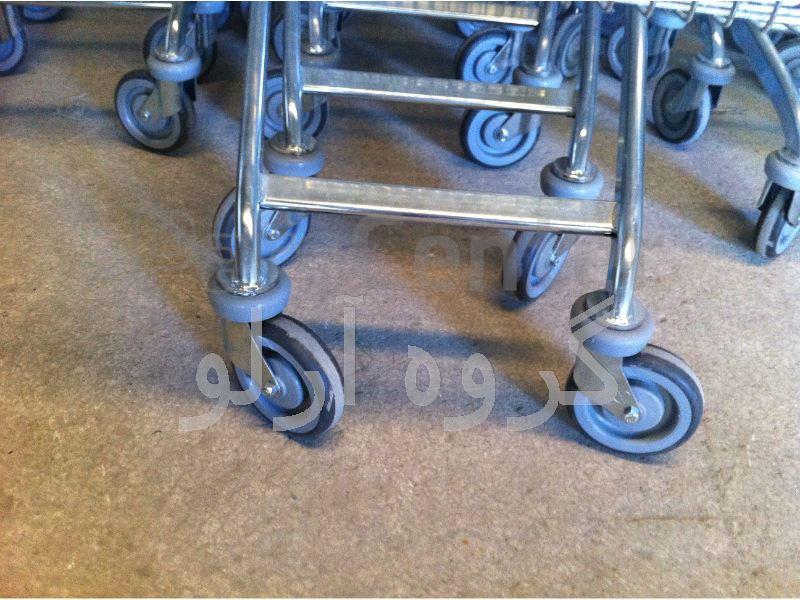 ترولی فروشگاهی، چرخ خرید فروشگاهی مدل 02
