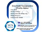 Iron Oxide Nanopowders (Fe2O3, Alpha, 99.8%, 20-30 nm)