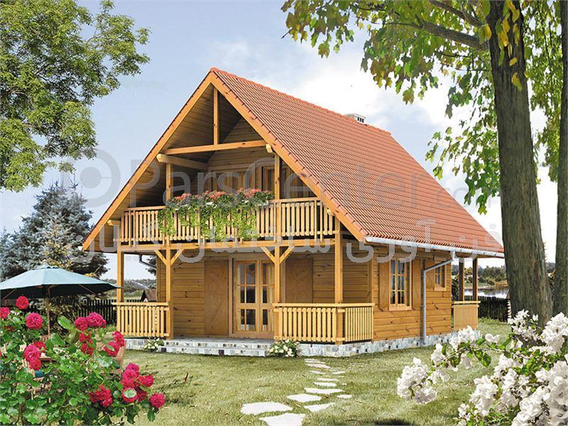 ویلای دوبلکس طرح چوب ارزان قیمت