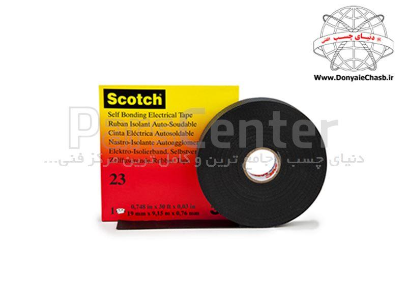 چسب نواری آپارات کابل  3M Scotch 23  آمریکا