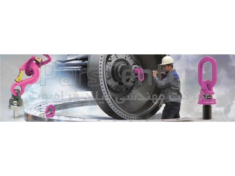 حلقه فولادی گرید 100 ساخت RUD آلمان