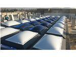 پوشش سقف نورگیر مرکزی (پروژه ساختمان نفت کارون اهواز)