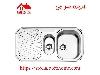 سینک ظرفشویی توکار کد 510 استیل البرز