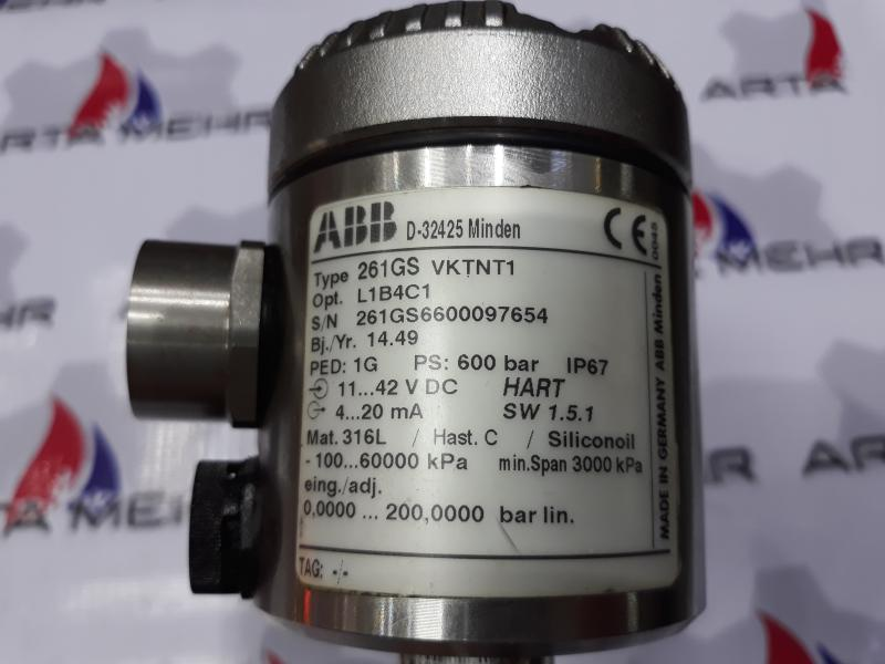پرشر ترانسمیتر ABB مدل 261GS