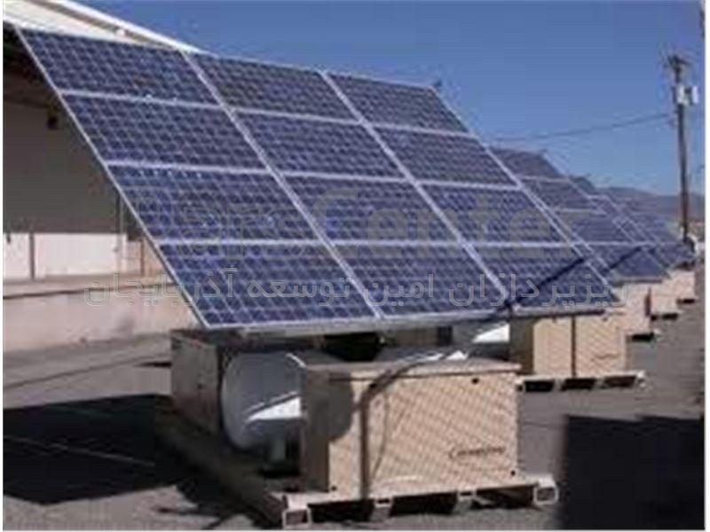 طراحی و اجرای سیستم برق خورشیدی
