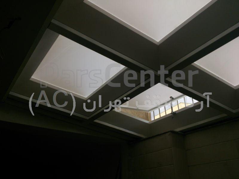سقف پاسیو حبابی(ازگل-نوبهار)