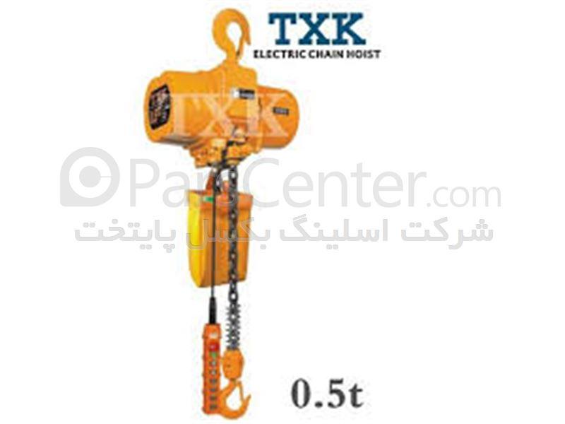 جرثقیل برقی TXK چهارکاره دو سرعته 0.5 تنی