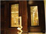 شیشه تزئینی تیفانی و درب لوکس لابی ، پروژه رما رزیدنس (Roma Residence)