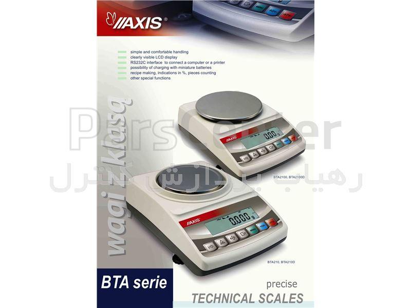 ترازوی دقیق دیجیتالی مدل BTA 210 D ساخت AXIS لهستان