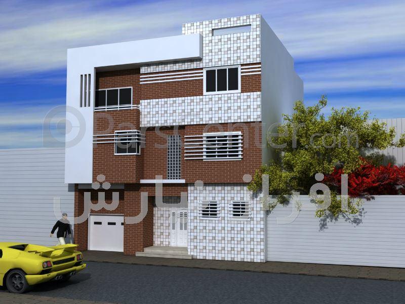 نمای ساختمان ویلایی آقای مهندس تیمورپور - خدمات اجرای نمای ساختمان ...نمای ساختمان ویلایی آقای مهندس تیمورپور