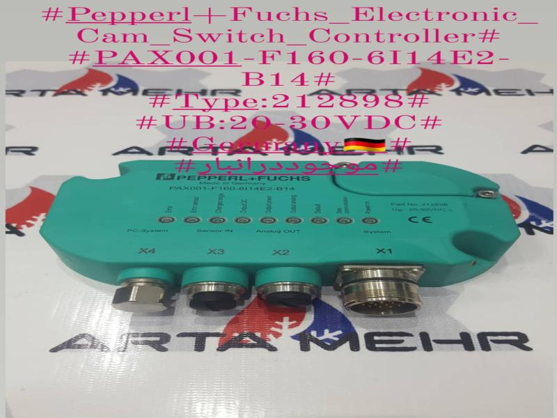 Electronic Cam Switch Controller- Pepperl Fuchs