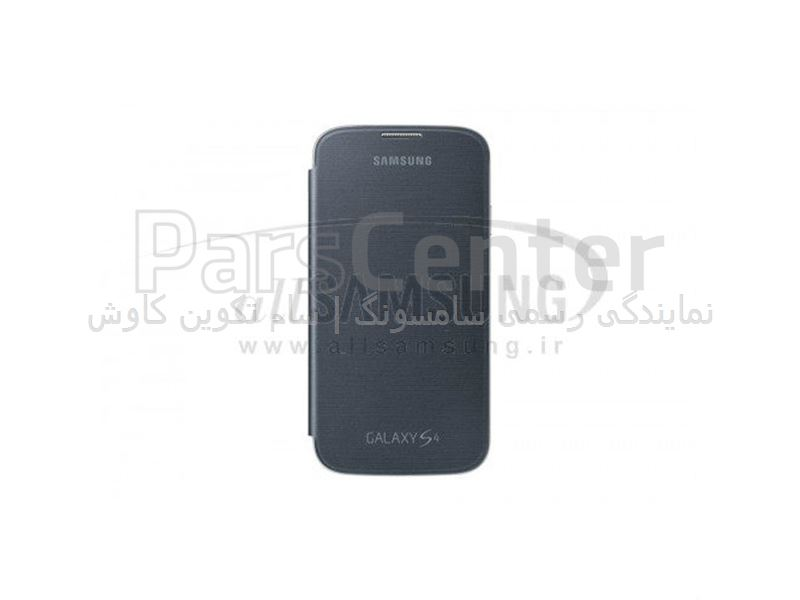 Samsung Galaxy S4 Flip Cover Black فلیپ کاور مشکی گلکسی اس 4 سامسونگ